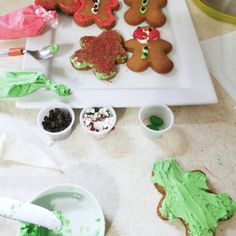 Lilly kept asking to decorate gingerbread people this year. When I bake with Lilly my anxiety go through the roof. It is one of my triggers. If I am not in the right head space or have another adult present I could get short tempered, angry, or frustrated. I didn't want to let her down so I ordered a Gingerbread kit. Also I think she did amazing at decorating. And Yes I did help! And had fun! Through The Roof, Gingerbread, Anxiety, Relationships, Presents, Kit, Decorating, Baking, Space