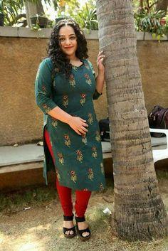 Www.numberonemusic.com/damienprojectfilmworks South Indian Actress Hot, Beautiful Indian Actress, Long Dress Design, Nithya Menen, Indian Girls Images, Curvy Girl Outfits, Bollywood Girls, Beautiful Wife, Indian Beauty Saree