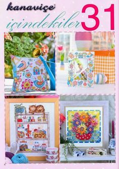 Use imgbox to upload, host and share all your images. Cross Stitch Magazines, Cross Stitch Books, Mini Cross Stitch, Cross Stitch Cards, Cross Stitch Flowers, Cross Stitching, Cross Stitch Embroidery, Hand Embroidery, Cross Stitch Designs