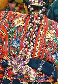 Mayan haute couture by Amsterdamned!,