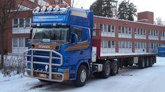 Truck Scania Kuljetus Kuronen Finland..
