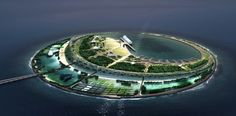 in winning the contest, the new york-based studio narrowly beat foster   partners and morphosis... diller scofidio + renfro wins eco-island competition in south china sea