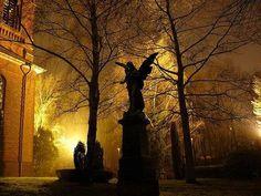 冷気を帯びた虚無的美しさ、墓場で撮影した一度見たら忘れられない画像 : カラパイア