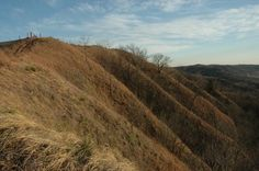 Loess Hills in Sioux City Iowa