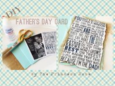 DIY-Father's Day Card