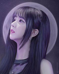 K Pop, African Art Paintings, Japanese Drawings, V Bts Wallpaper, Kpop Drawings, Korean Art, Digital Art Girl, Son Luna, G Friend