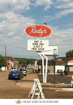 Small business marketing at its best! (Loving all these funny signs we are finding on Pinterest when we search for marketing humor!)