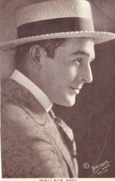 Wallace Reid from a 1922 photo post card he was a star remembered by few forgotten by many