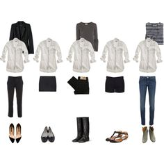 """Wardrobe Essentials: The White Shirt"" by coffeestainedcashmere on Polyvore"