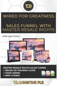 Wired For Greatness Sales Funnel With Master Resale Rights  | #MasterResaleRightsSaleFunnels #MRRSaleFunnels #MRRProducts #MRR #MasterResaleRights Keystone Habits, The Turning Point, Today Calendar, Sales Letter, Take The First Step, Wire, Lettering, Drawing Letters, Brush Lettering