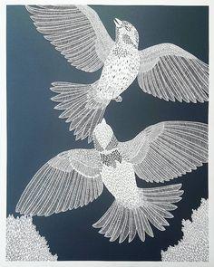 Paper cutting artistPippa Dyrlaga craftsintricateart in exquisite detail.