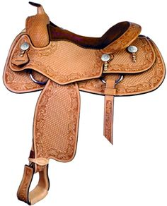 Todd Bergen Reiner Saddle | ChickSaddlery.com