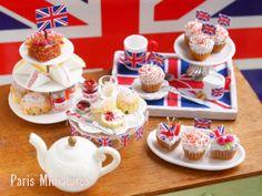 The Mini Food Blog: The Royal Wedding ~ Paris Miniatures
