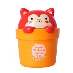 Hot Sale Lovely Cartoon Cat Hand Cream Whitening Nourishing Hand Lotion Skin Cream Anti-chapping Hand Cream