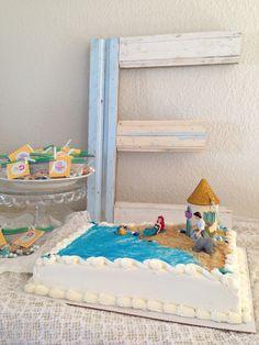 DIY Little Mermaid Cake