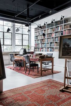 Rare Bookseller's Office Space in Surry Hills by Busatti Studio | Yellowtrace