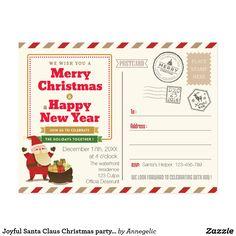 Printable Letter To Santa Claus Envelope Template Cute Santa Stamp