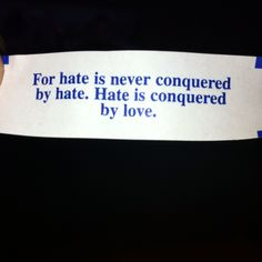 Fortune cookie.