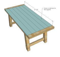 diy farmhouse table. Best tutorial I have found! Perfect!!!