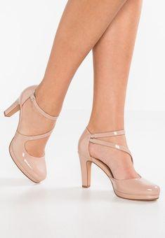 Women High Heels Rose Gold Dress Shoes Cute Sandals For Women Sandals – chestnuttal Pumps Nude, Nude High Heels, High Shoes, Leather High Heels, High Heel Pumps, Womens High Heels, Pumps Heels, Women's Shoes, Heeled Sandals