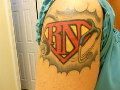 20 Ink Designs for Nurse Tattoos - NurseBuff - Page 11 Beautiful Tattoos, Cool Tattoos, Tatoos, Awesome Tattoos, Rn Tattoo, Tattoo Time, Tattoo Art, Doctor Of Nursing Practice, Nursing Students