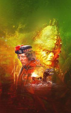 Doctor Who DVD Artwork by Lee Binding