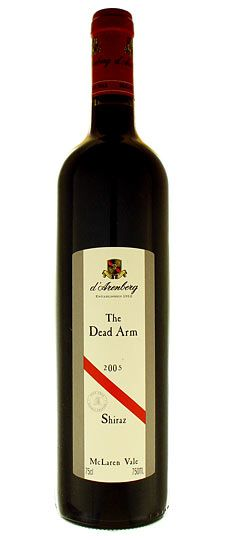 d'Arenberg The Dead Arm Shiraz - to date, my favorite Australian wine, from my favorite Australian producer.