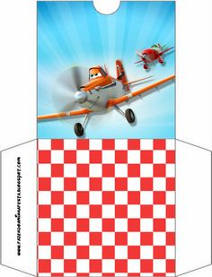 Planes (Disney): Free Party Printables.