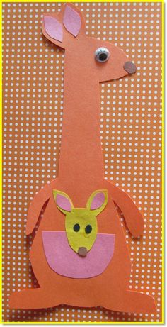 kangaroo crafts - Google Search:                                                                                                                                                      More