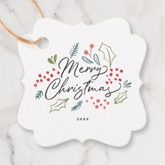 Colorful Doodles Merry Christmas To From Custom Favor Tags Christmas Doodles, Diy Christmas Cards, Xmas Cards, Handmade Christmas, Christmas Crafts, Christmas Decorations, Merry Christmas Writing, Watercolor Christmas Cards, Christmas Drawing