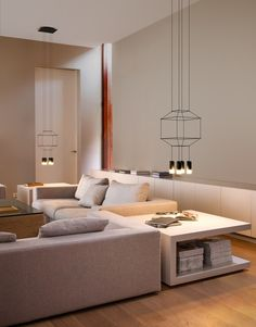 LED pendant #lamp WIREFLOW by Vibia | #design Arik Levy @vibialight