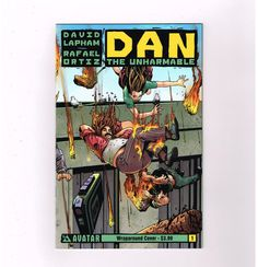DAN THE UNHARMABLE 1 12 Complete Series From Avatar All 1st Print NM
