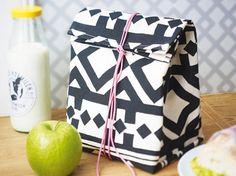 Lunchbag nähen - so geht's Schritt für Schritt