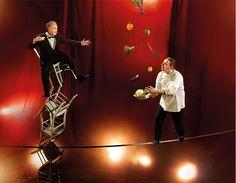 "#Lavazza 2014 calendar: Albert Adrià with Ferran ""Balancing of taste"" November - December"