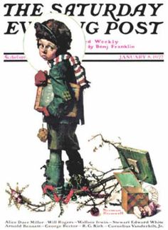 Saturday Evening Post - 1927-01-08 (Norman Rockwell)