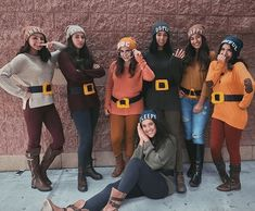 The hottest halloween costumes for college students that you'll absolutely love. Here are 40 of the hottest last-minute costumes ideas that are perfect to wear to a college party.This is the most creative college halloween costumes ever. Creative College Halloween Costumes, Best Group Halloween Costumes, Halloween Kostüm, Halloween Outfits, Disney Group Costumes, Halloween Couples, 7 Dwarfs Halloween Costumes, Homemade Halloween, Family Costumes