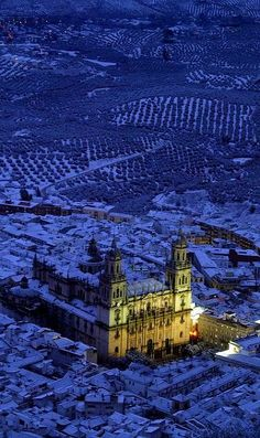 Winter.. Jaén Cathedral, Andalucia