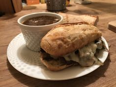 [Homemade] A Leftovers French Dip #food #foodporn #recipe #cooking #recipes #foodie #healthy #cook #health #yummy #delicious