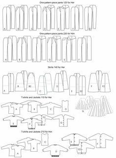 Doll, Barbie Clothing Patterns | eBay