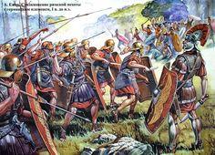 Romans against Germanic forces