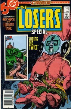 Cover for The Losers Special (DC, 1985 series) #1 [Newsstand Edition]