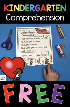 FEBRUARY NO PREP PACK - kindergarten math and literacy activities and printables and lessons - easy to use for cvc words sight words reading writing short vowels long vowels addition subtraction teen numbers counting to 100 one to one correspondence Valentines Day #kindergartenmath #kindergartenliteracy Kindergarten Centers, Literacy Centers, Counting To 100, Vip Kid, Teen Numbers, Short Vowels, Cvc Words, Addition And Subtraction, Literacy Activities