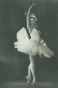 "Ballerina Maya Plisetskaya. She is one of only 11 dancers to ever earn the rare & honored titled ""Prima Ballerina Assoluta."""