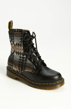 Pendleton for Dr. Martens Boot available at #Nordstrom...I NEED!