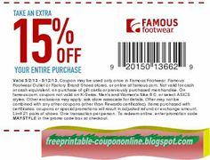 Famous Footwear Coupons Ends of Coupon Promo Codes MAY 2020 ! Hobbies That Make Money, Great Hobbies, How To Make Money, Pizza Coupons, Mcdonalds Coupons, Hobby Shops Near Me, Hobby Trains, Tree Shop, Free Printable Coupons