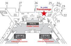 Inauguração do TraveLounge no Aeroporto Internacional de Narita