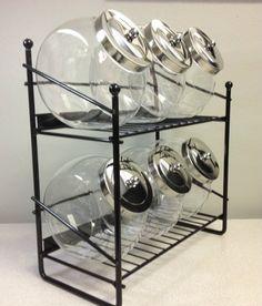 Penny Candy 6 Jar Rack   Acrylic Candy Bins