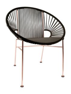 Concha Copper Frame Chair by Innit at Gilt