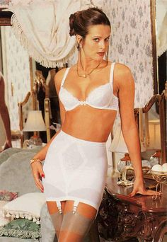 Lovely gals show us their girdles and panty girdles. Classic Lingerie, Vintage Lingerie, Sexy Lingerie, Girdle Girls, Sexy Outfits, Casual Outfits, Secret In Lace, Vintage Girdle, Garter Belt And Stockings