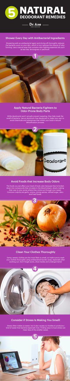 Natural deodorant - Dr. Axe http://www.draxe.com #health #holistic #natural